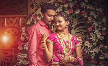 Prajeesh and Sangeetha